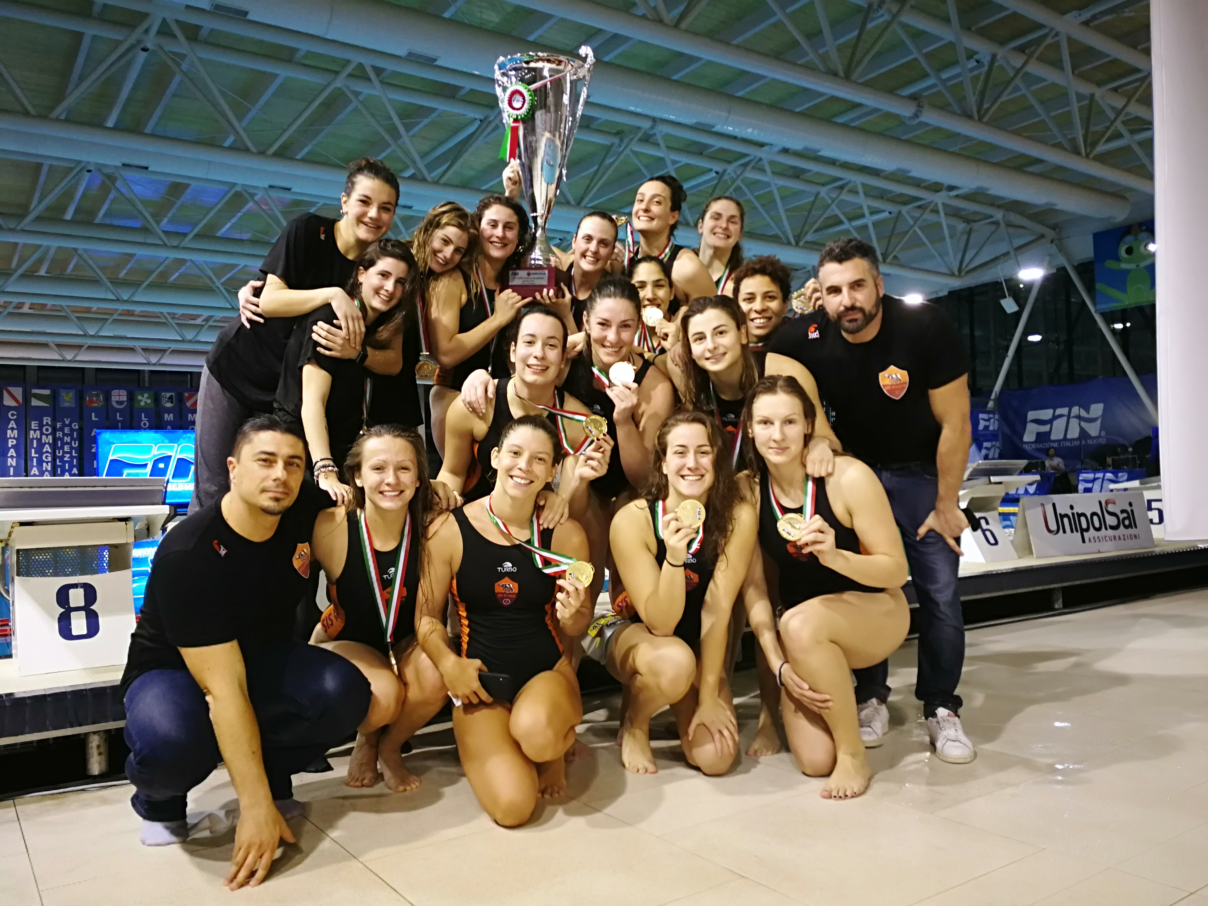 La SIS Roma vince la Coppa Italia, ecco il video